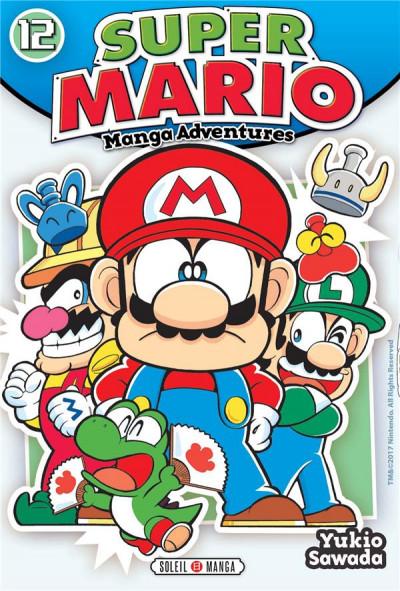 Couverture Super Mario - Manga adventures tome 12