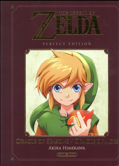 Couverture The legend of Zelda - Oracle of seasons & ages - Perfect edition