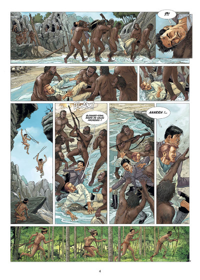 Page 2 Le monde perdu tome 3