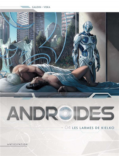 Couverture Androïdes tome 4