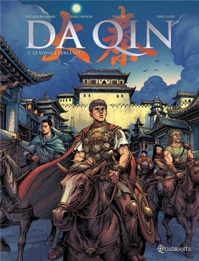 Couverture Da Qin tome 2