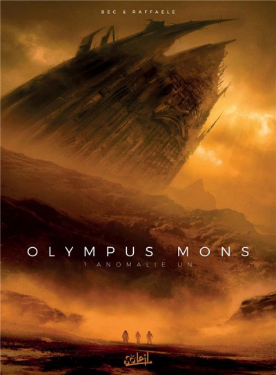 Couverture Olympus mons tome 1