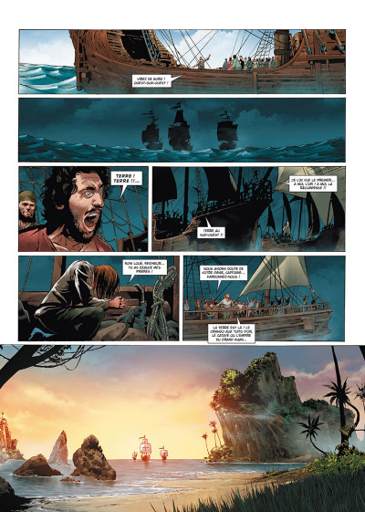 Page 4 Olympus mons tome 1