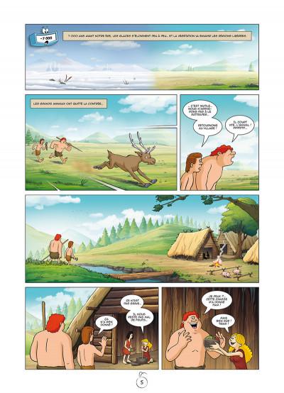 Page 3 Il était une fois l'homme tome 2