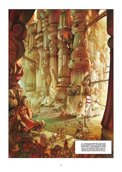 Page 1 Sky doll - édition spéciale tome 4