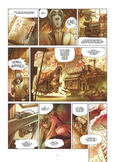 Page 3 Sky doll - édition spéciale tome 4