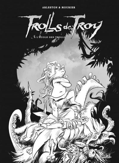 Couverture Trolls de Troy tome 22 - édition noir et blanc