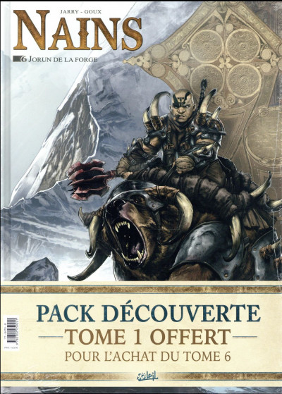 Couverture Nains - pack tomes 1 + 6