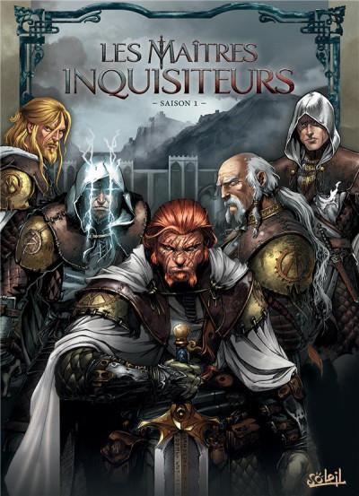 Couverture Les maîtres inquisiteurs - tome 1 à tome 6 - coffret