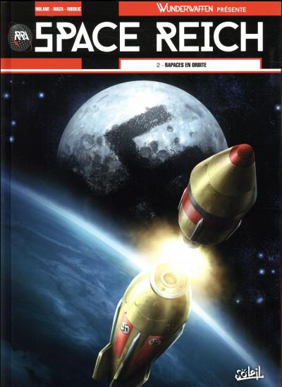 Couverture Wunderwaffen présente Space Reich tome 2