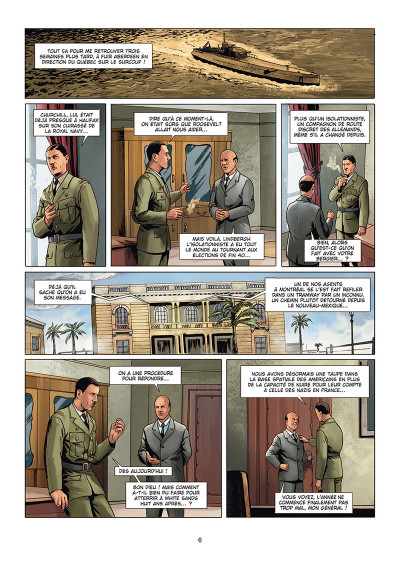 Page 4 Wunderwaffen présente Space Reich tome 2