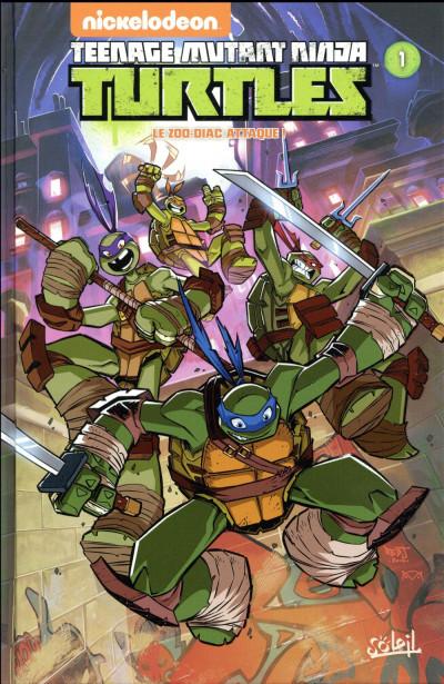 Couverture Teenage Mutant Ninja Turtles tome 1