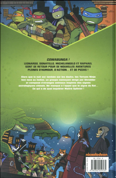 Dos Teenage Mutant Ninja Turtles tome 1