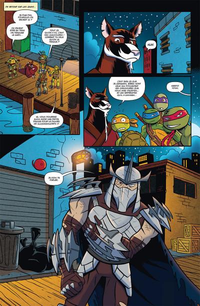 Page 4 Teenage Mutant Ninja Turtles tome 1
