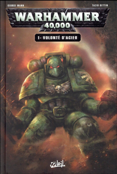 Couverture Warhammer 40 000 tome 1