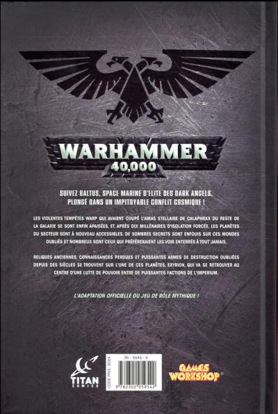 Dos Warhammer 40 000 tome 1
