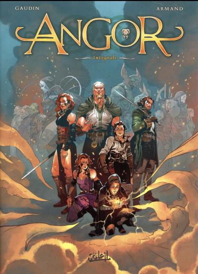 Couverture Angor - intégrale tome 1 à tome 5