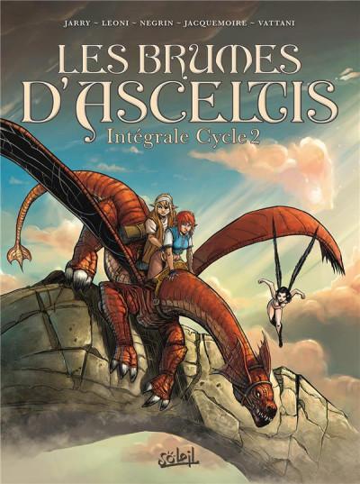 Couverture Les brumes d'Asceltis - intégrale tome 2 - tomes 5 à 7