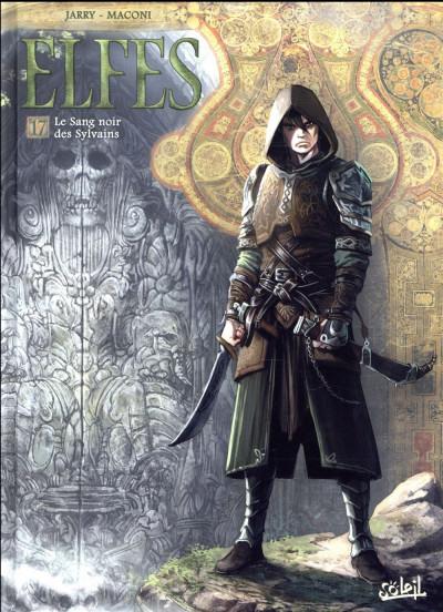 Couverture Elfes tome 17 - Le sang noir des Sylvains