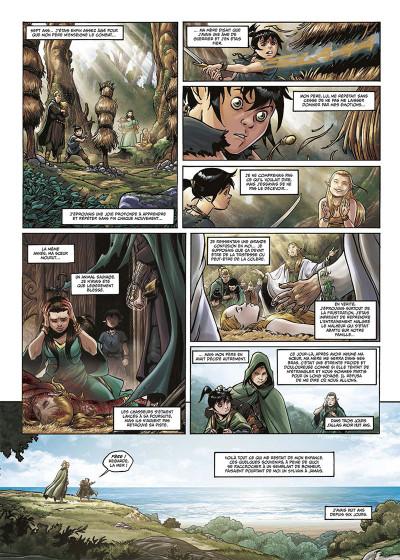 Page 2 Elfes tome 17 - Le sang noir des Sylvains