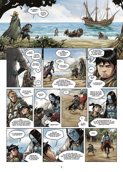 Page 3 Elfes tome 17 - Le sang noir des Sylvains
