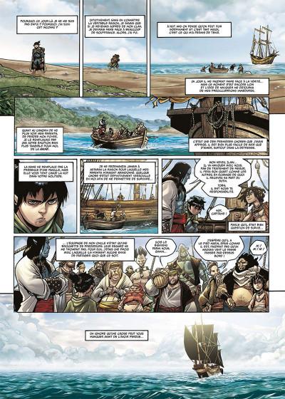 Page 4 Elfes tome 17 - Le sang noir des Sylvains