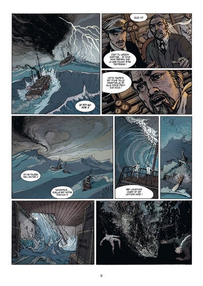 Page 2 Le fulgur tome 1
