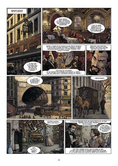 Page 4 Le fulgur tome 1 + ex-libris offert