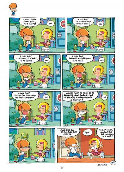 Page 4 Les p'tits diables tome 23
