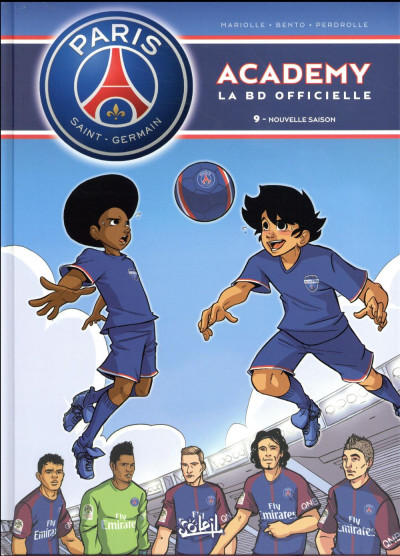 Couverture PSG academy tome 9