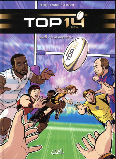 Couverture Top 14 tome 5