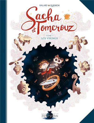 Couverture Sacha et Tomcrouz tome 1