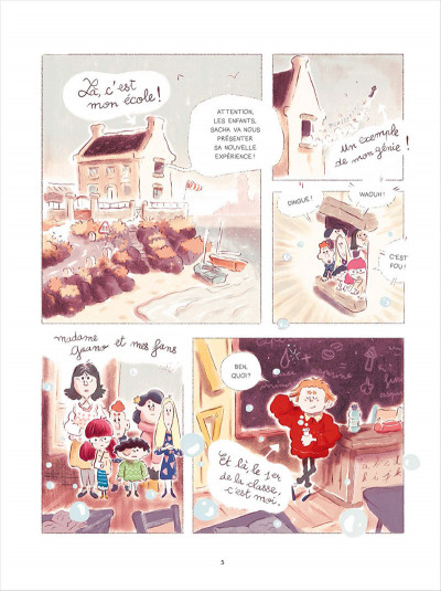 Page 1 Sacha et Tomcrouz tome 1