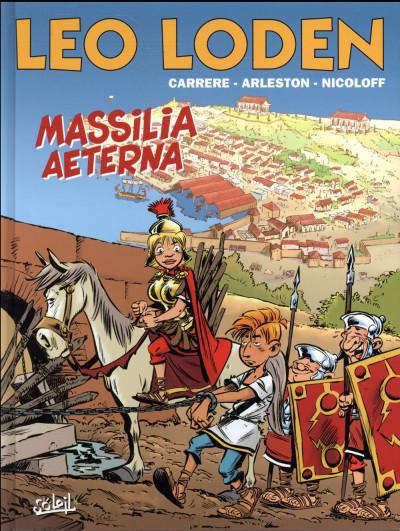 Couverture Léo Loden tome 25 - Massilia Aeterna