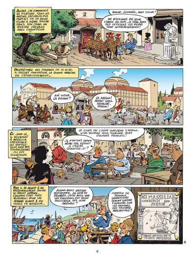 Page 4 Léo Loden tome 25 - Massilia Aeterna