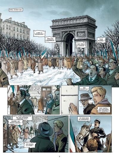 Page 1 Une génération française tome 1