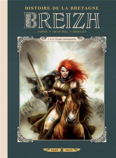 Couverture Breizh - Histoire de la Bretagne tome 1