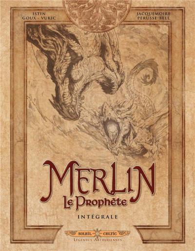 Couverture Merlin le prophète - intégrale tomes 1 à 5