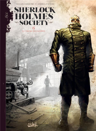 Couverture Sherlock Holmes society tome 6