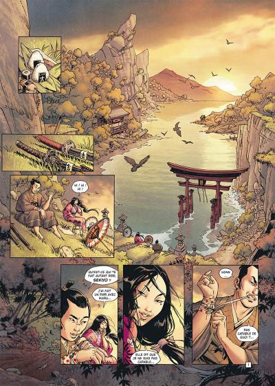 Page 1 Samurai tome 11