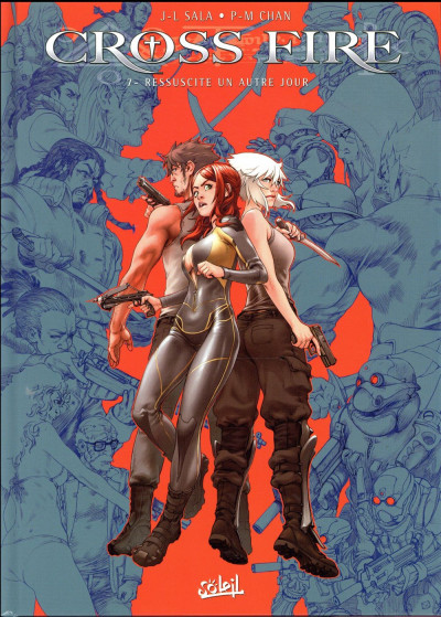 Couverture Cross Fire tome 7