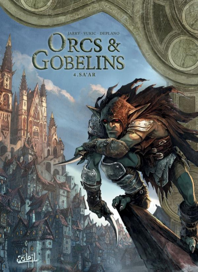 Couverture Orcs & gobelins tome 4
