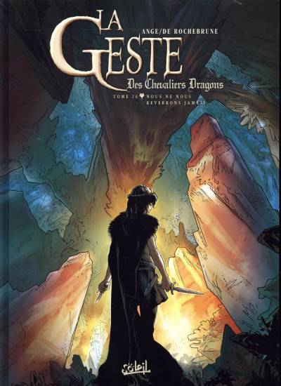 Couverture La geste des chevaliers dragons tome 26
