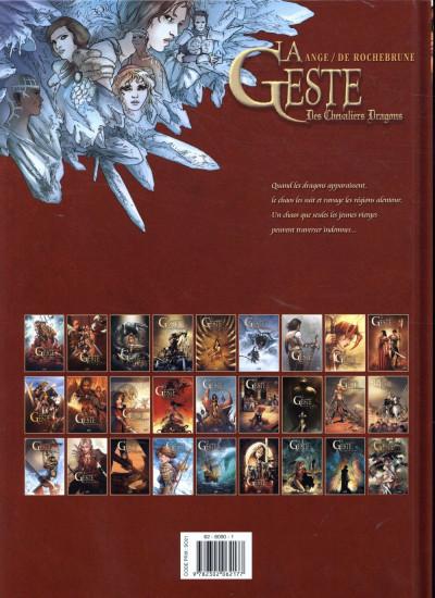 Dos La geste des chevaliers dragons tome 26