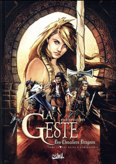 Couverture La geste des chevaliers dragons tome 24