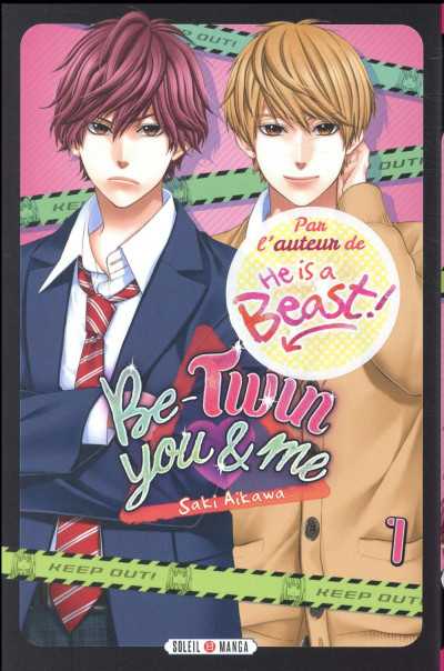 Couverture Be-twin you & me tome 1