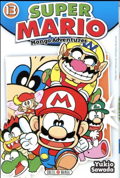 Couverture Super Mario - manga adventures tome 13