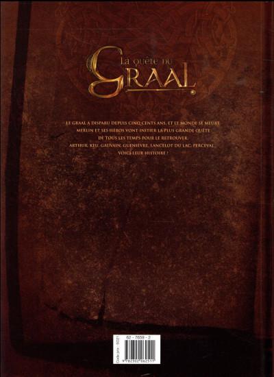 Dos La quête du Graal tome 5