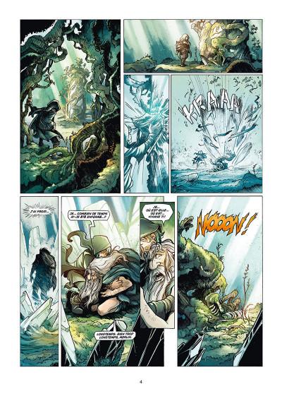 Page 2 La quête du Graal tome 5
