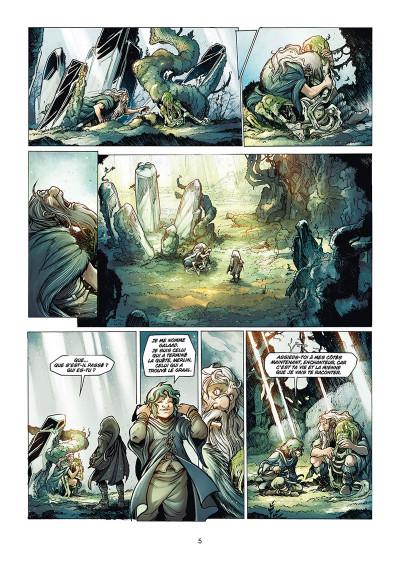 Page 3 La quête du Graal tome 5